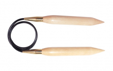 KnitPro Jumbo Birke Rundstricknadel 30 mm 100 cm
