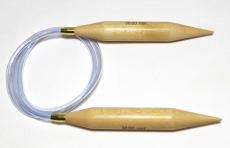 knit & hook Rundstricknadel Holz 30 mm 150 cm
