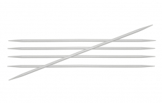 KnitPro Basix Aluminium Nadelspiel 3,5 mm 15 cm