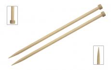KnitPro Basix Birke Jackenstricknadeln 6 mm 35 cm