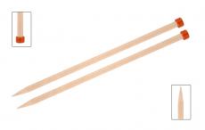KnitPro Basix Birke Jackenstricknadeln 12 mm 35 cm