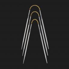addi CraSy Trio Metall Socken-Stricknadeln 2,50 mm