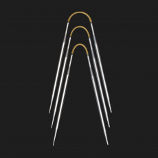 addi CraSy Trio Metall Socken-Stricknadeln 3,00 mm