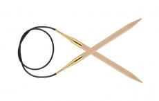 KnitPro Basix Birke Rundstricknadel 10 mm 60 cm