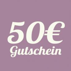 Geschenkgutschein 50 EUR