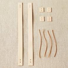 COCOKNITS - Leather Handle Kit short - Ledergriffe kurz