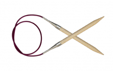 KnitPro Basix Birke Rundstricknadel 5,0 mm 60 cm