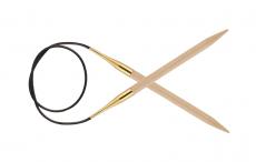 KnitPro Basix Birke Rundstricknadel 10 mm 100 cm