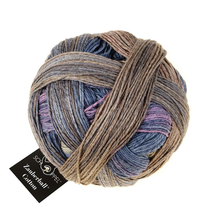Schoppel Zauberball® Cotton Bio Baumwolle 100g Fb 2370 Geländegewinn