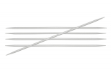 KnitPro Basix Aluminium Nadelspiel 4,5 mm 15 cm