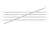 KnitPro Basix Aluminium Nadelspiel 5,0 mm 15 cm