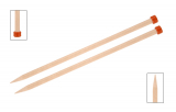 KnitPro Basix Birke Jackenstricknadeln 15 mm 40 cm