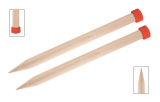 KnitPro Jumbo Birke Jackenstricknadeln 20 mm 40 cm