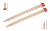 KnitPro Jumbo Birke Jackenstricknadeln 35 mm 40 cm