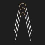 addi CraSy Trio Metall Socken-Stricknadeln 5,00 mm