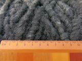 Filzschnur 9 mm - Schwarzgrau