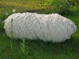 Filzschnur 12 mm - Naturweiß