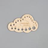 Kremke - Nadelschablone Nadelmaß 1,5 bis 12 mm